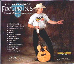 Footprints by J.D. Blackfoot